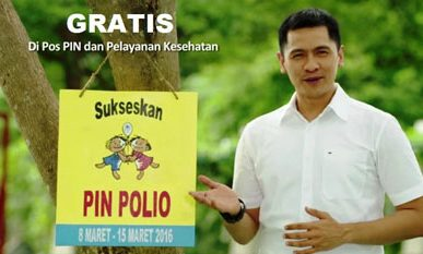 Sukseskan PIN POLIO
